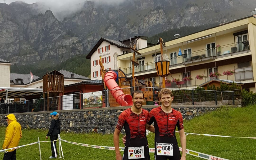 Gemmi Triathlon: swim, bike, rain
