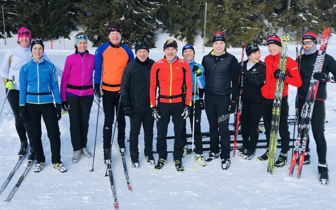 Erstes TRIAMT Langlauf-Weekend war ein voller Erfolg!